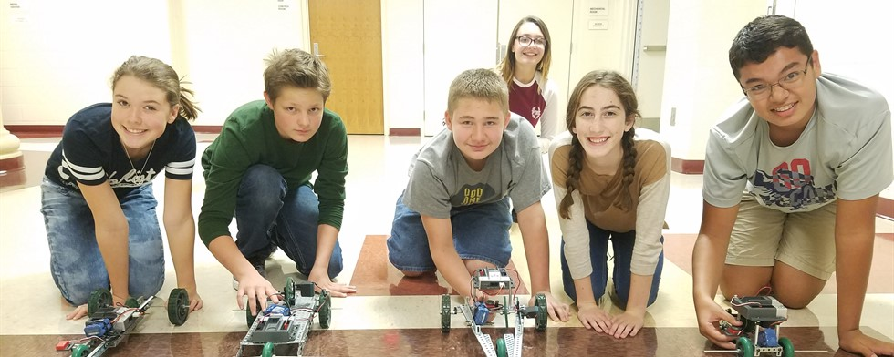 STEM Robot Cars