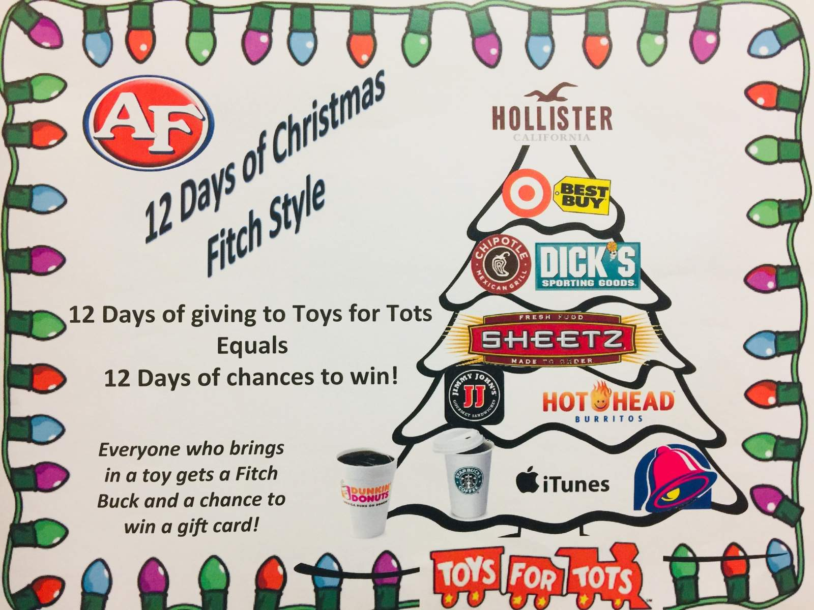 Toys For Tots Logo No Background : Toys for tots austintown fitch high school