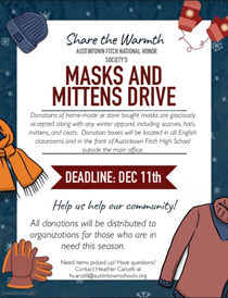 masks and mittens