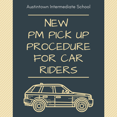 PM Car rider procedure