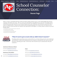 school counselor page