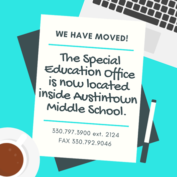 special ed office has moved